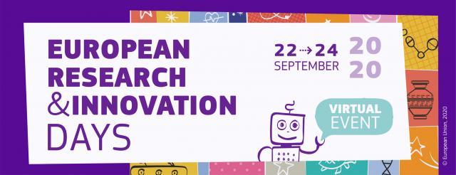Avrupa Araştırma ve Yenilik Günleri 2020 Kayıtları Açılmıştır!